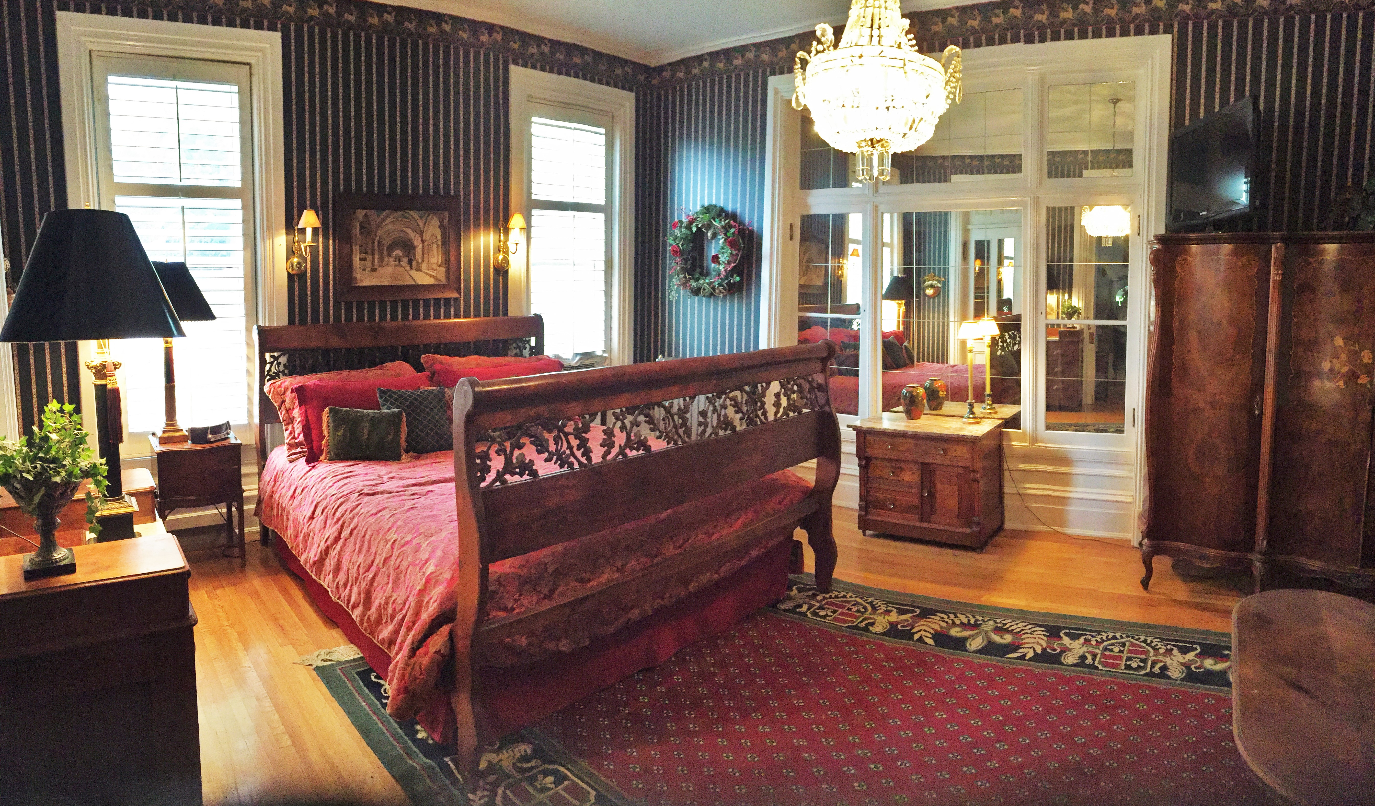 Ellerbeck Mansion Bed U0026 Breakfast   World Traveler Room Vacation Rental In  Salt Lake City