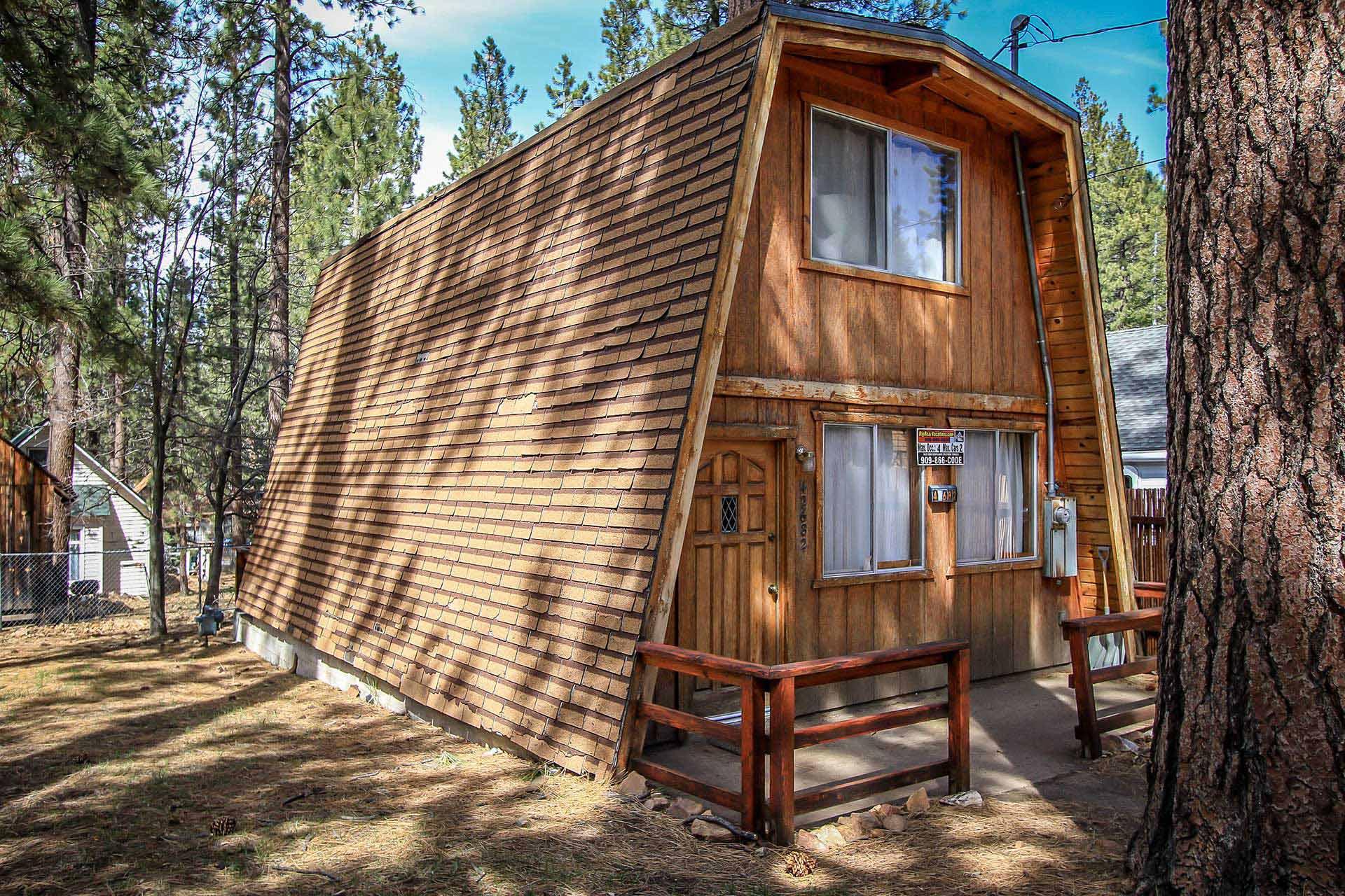 1174 cedar haus ra45949 redawning for Big bear lakefront cabin rentals
