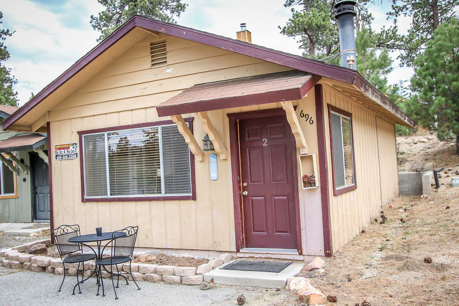 1260 lazy daisy bear ra45977 redawning for Big bear lakefront cabin rentals