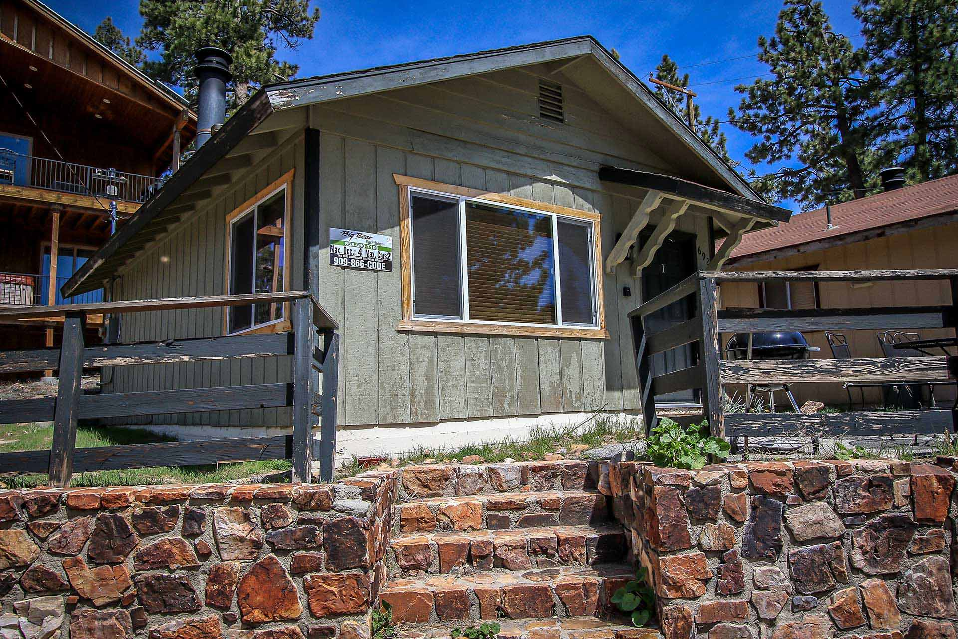 1506 daisy duo ra46100 redawning for Big bear lakefront cabin rentals