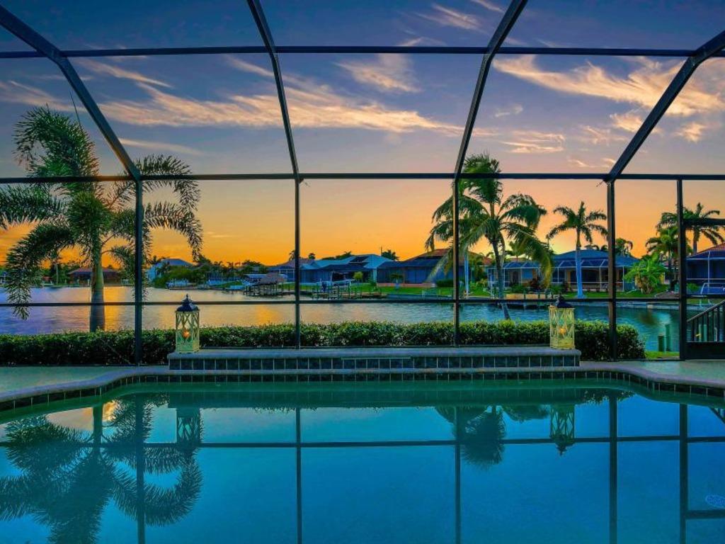 Sea la Vie in Cape Coral Florida waterfront rental ...