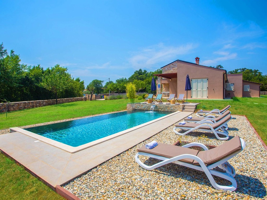 Villa Marten with Fenced Garden and Private Infinity Pool ...