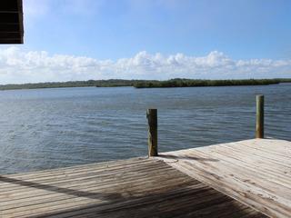 839G- Riverfront home, walk to beach