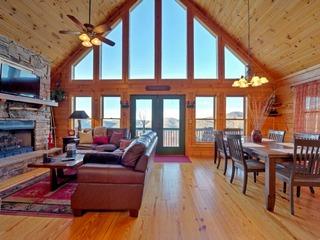 Sky High- 4 Bedroom Cabin