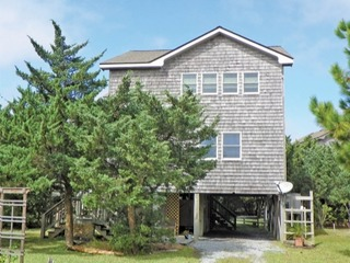 Open and airy home with reverse floor plan and lots of porches.