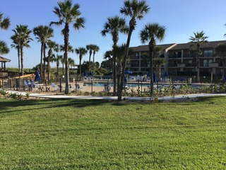 Fall special! Ocean Villas 67- 3 Bedroom 2 Bath ground floor condo with large south facing patio. Recently Remodeled!
