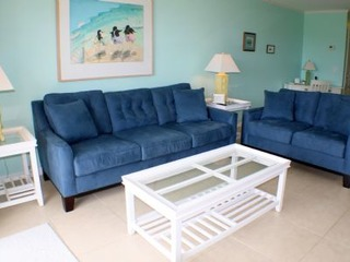 Updated 2 bedroom ocean front condo- 2 pools, beach access, garage and ocean front patio