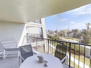 Updated, Spacious 2 bedroom condo with ocean view, pool and beach access.