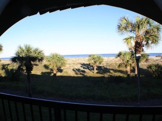 Ocean front 2 bedroom condo with garage- 2 pools (1 heated) and beach access. Rates Reduced!