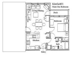 Kintla 403 One bedroom