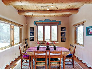 An Enchanting Casita w/ Patio & Kiva Fireplace
