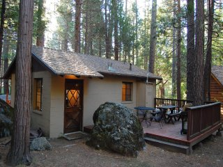 (2) Bassett Cedar Rock Cabin