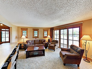 New Listing! North Star Condo w/ Hot Tub & Balcony