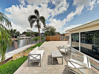 New Listing! Canal-Front w/ Private Pool & Hot Tub