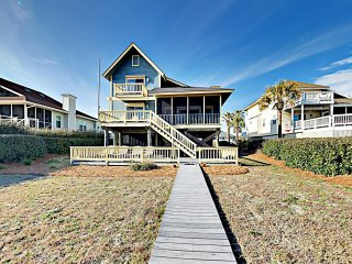 New Listing! The Nut House w/ Oceanfront Porch