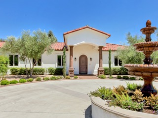 "New Listing! ""Upscale Tuscan Style Estate in Wine Country"""