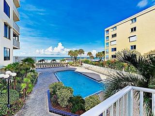 New Listing! Beachfront Perch w/ Pool & Balcony