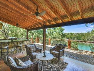 New Listing! Pedernales River Oasis, Private Dock