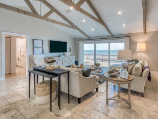 New Listing! Quiet Ocean Oasis w/ Beachfront Deck
