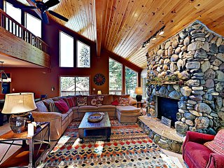 New Listing! Tahoe Donner Ski Chalet w/ Hot Tub