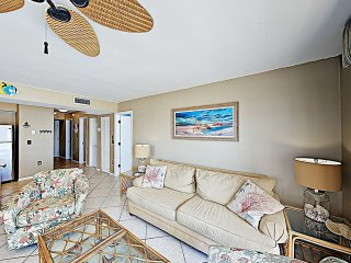 New Listing! Chic Gulf-View Beach Condo w/ Pools