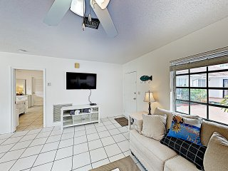 New Listing! Updated Beach Condo w/ Sparkling Pool