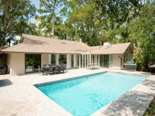 New Listing! All-Suite Sea Pines Stunner w/ Pool