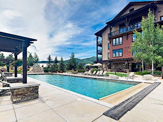 New Listing! Mountain-View Condo w/ Pool & Gondola