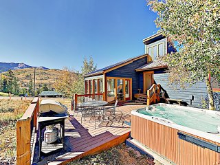 New Listing! Mountain-View Ski Retreat w/ Hot Tub