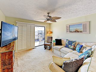 All-Suite Penthouse w/ Pool, Walk to Grand Strand