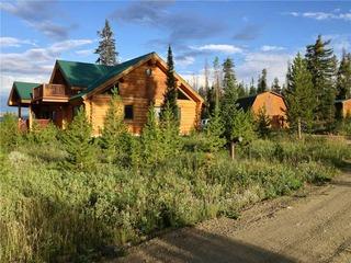 Miles Behind Log Cabin