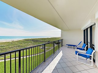 New Listing! Energetic Gulf-View Condo w/ Balcony