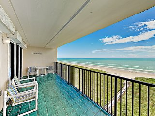 New Listing! Elegant Beachfront Retreat w/ Balcony