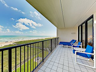New Listing! Bright Beachfront Getaway w/ Balcony