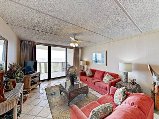 New Listing! Classic Beachfront Condo w/ Balcony