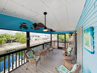New Listing! Canal-Front Getaway w/ Private Dock