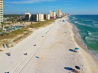 New Listing! Beachfront Top-Floor Condo w/ Balcony