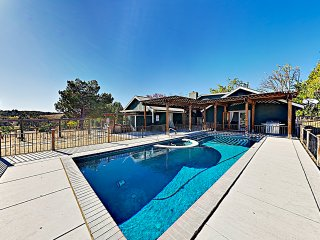 New Listing! Wine Country Views, Courtyard & Pool