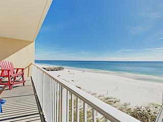 Gulf-View Coastal Elegance w/ Pool & Hot Tub