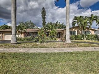 Miami- Private Canal Home, Book for Super Bowl LIV