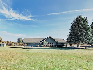 New Listing! Mountain-View Home on 9 Acres