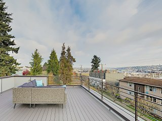 New Listing! New-Build Ballard Home: Rooftop Deck