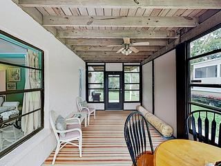 New Listing! Duplex Efficiency w/ Screened Porch