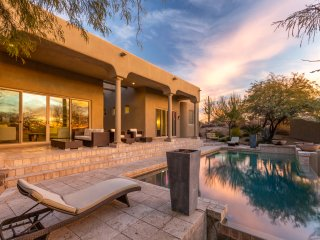Secluded Palatial Troon Estate w/ Infinity Pool
